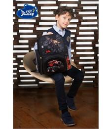 Фото 8. Ранец школьный DeLune Динозавр 6-122 + мешок + часы