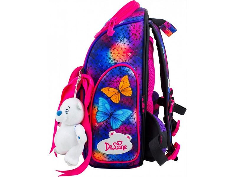 Ранец школьный DeLune Мишутка 6-124 + мешок + мишка