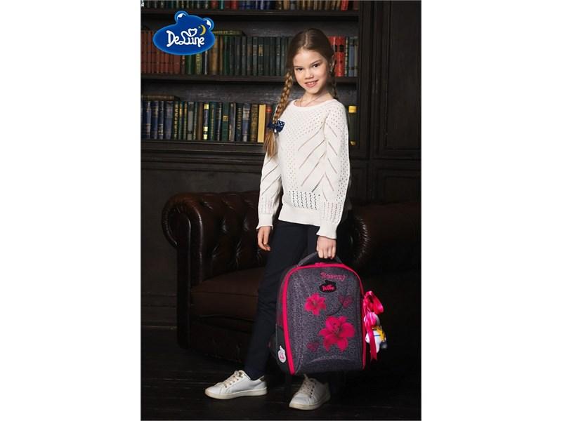 Ранец школьный DeLune 7-140 + мешок + мишка