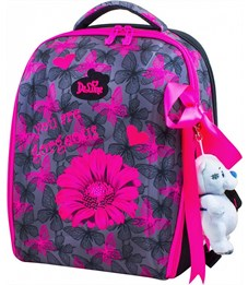 Ранец школьный DeLune 7-141 + мешок + мишка