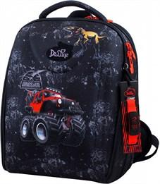 Ранец школьный DeLune Динозавр 7mini-006 + мешок + пенал + часы