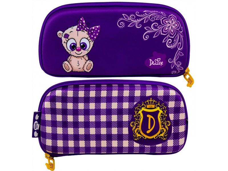 Ранец школьный DeLune Мишутка 7mini-005 + мешок + пенал + мишка