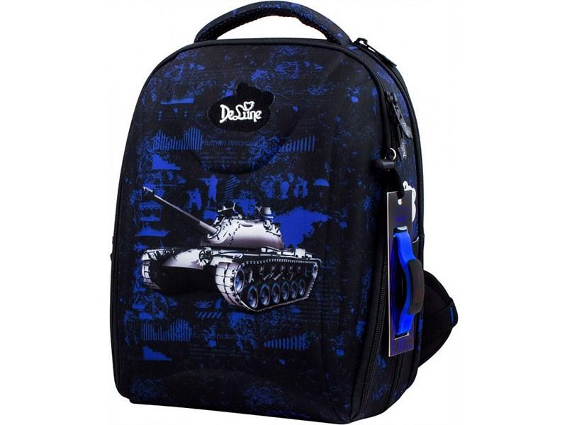 Ранец школьный DeLune 7mini-008 + мешок + пенал + часы