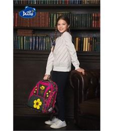Фото 8. Ранец школьный DeLune Цветок 8-101 + мешок