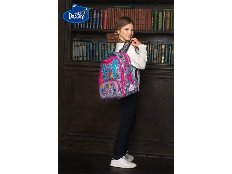 Ранец школьный DeLune Путешествие 8-103 + мешок