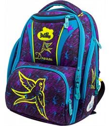 Ранец школьный DeLune Птица 8-104 + мешок