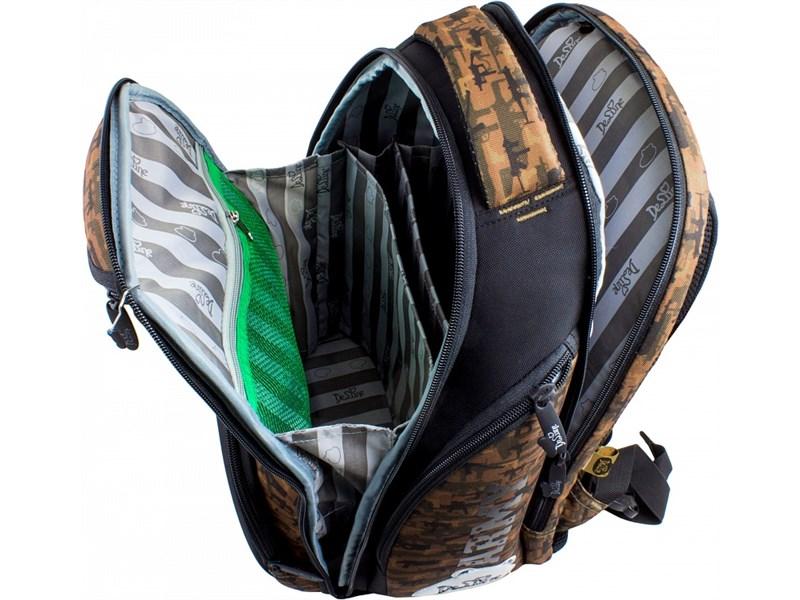 Ранец школьный DeLune Army 8-105 + мешок