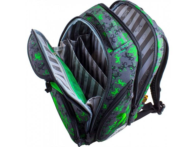 Ранец школьный DeLune Ящер 8-106 + мешок