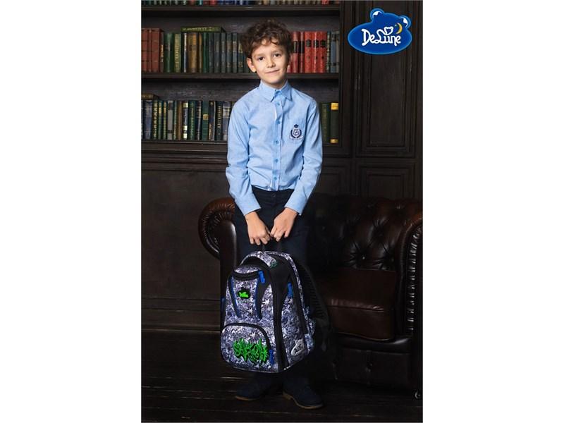 Ранец школьный DeLune Skate 8-107 + мешок