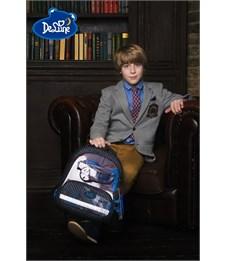 Фото 11. Ранец школьный DeLune Машина 9-119 + мешок + пенал + часы
