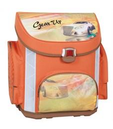 Ранец школьный GEAR UP, для мальчиков, оранжевый, разм.39,5 х 37 х 24 см