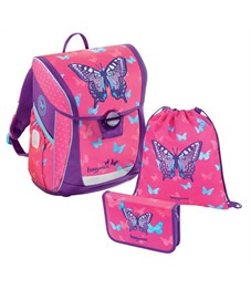 Ранец школьный Hama BaggyMax Fabby Sweet Butterfly 3 предмета