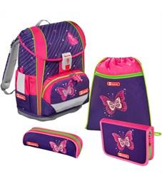 Ранец школьный Hama Step By Step Light2 Shiny Butterfly с наполнением