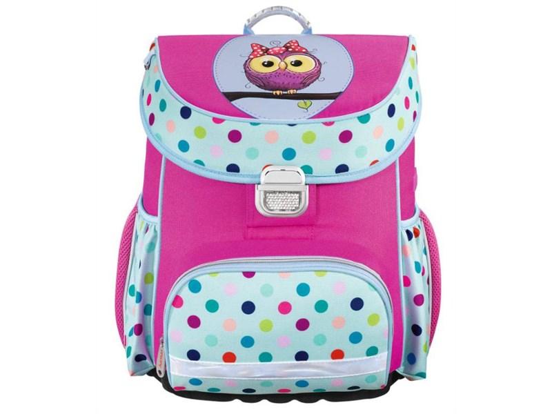 Ранец школьный Hama Sweet owl розовый/голубой