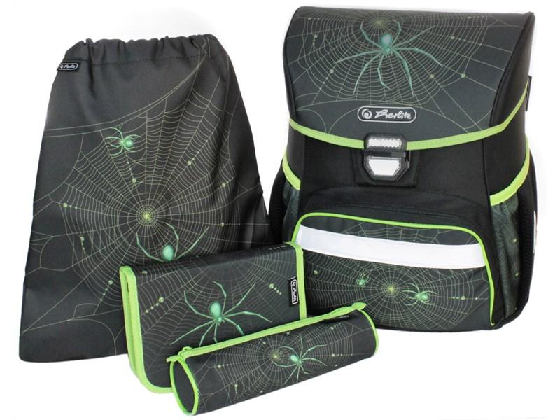 aaa12a5787e8 Ранец школьный Herlitz LOOP PLUS Spider с наполнением 50009749