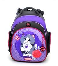 Ранец школьный Hummingbird TK25 Royal Pets Cat + мешок