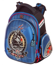 Ранец школьный Hummingbird TK26 The Sea Captain + мешок