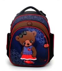 Ранец школьный Hummingbird TK32 Bear + мешок