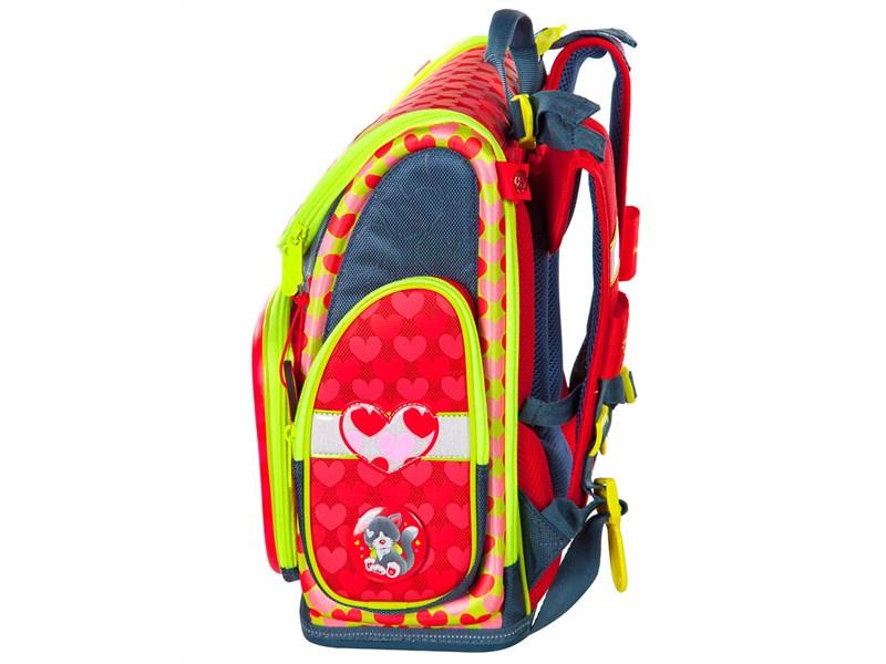 Ранец школьный Hummingbird NK4 Darling the Cat + мешок