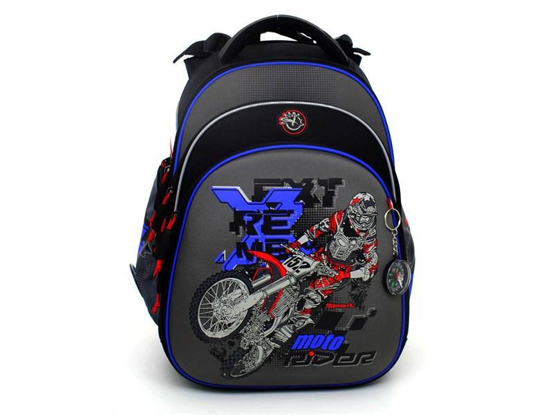 Ранец школьный Hummingbird T75 Moto Rider