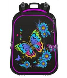 Ранец школьный каркасный Stavia Бабочка