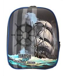 Ранец школьный каркасный Stavia Корабль