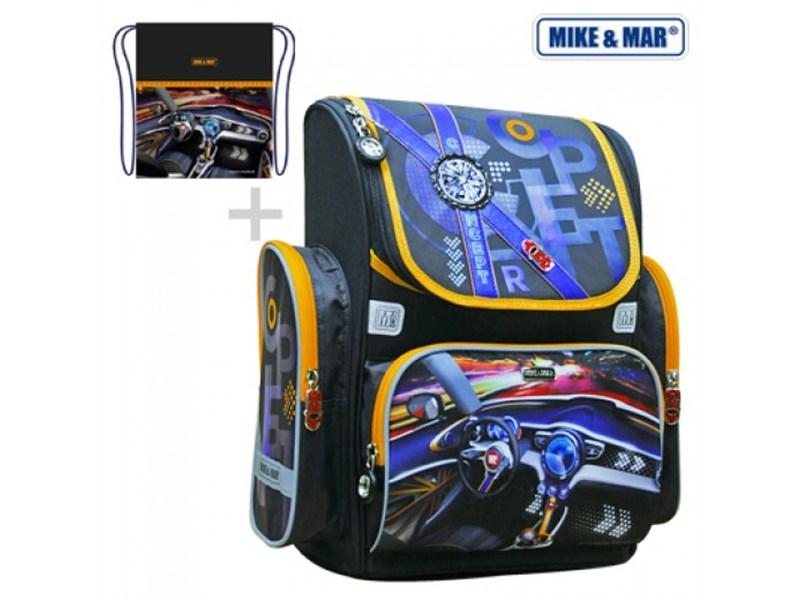 Ранец школьный Mike Mar Авто + мешок