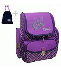 Ранец школьный Mike Mar Оксфорд фиолетовый + мешок