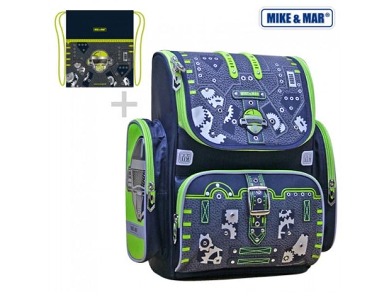 Ранец школьный Mike Mar Робот + мешок