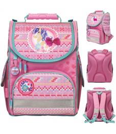 Ранец школьный NATURE QUEST COLLECTION, разм.35х31х19см, анатом.спинка, розовый, для девочек