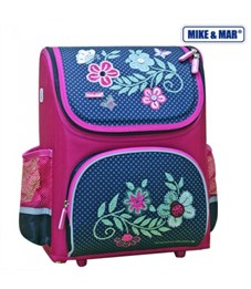 Ранец школьный раскладной Mike Mar Цветы