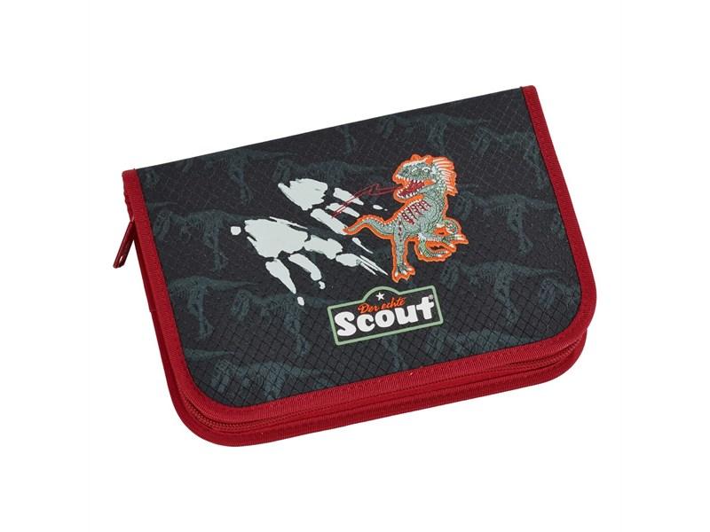Ранец школьный Scout Sunny Exklusiv Укус Динозавра с наполнением 4 предмета