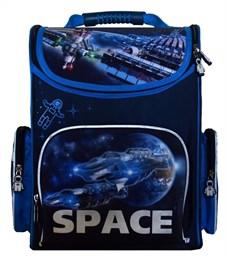 Ранец школьный Silwerhof Space синий - голубой
