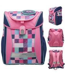 Ранец школьный Tiger Enterprise Joy Collection Розовая Клетка