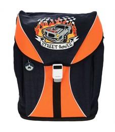 Ранец школьный Tiger Enterprise Voguish Collection чёрный-оранжевый