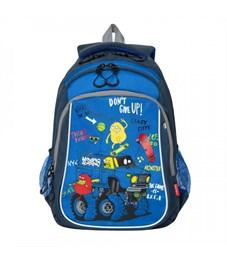 RB-052-3 Рюкзак школьный (/1 синий)