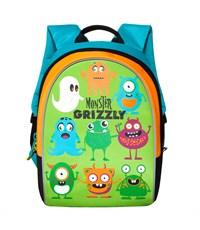 RB-628-1 Рюкзак дошкольный Grizzly салатовый