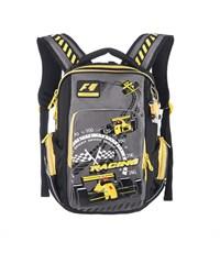 RB-630-1 Рюкзак школьный Grizzly черный-желтый