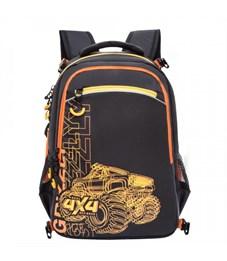 Рюкзак школьный Grizzly с мешком