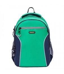 RB-963-1 Рюкзак школьный (/2 зеленый - т.синий)