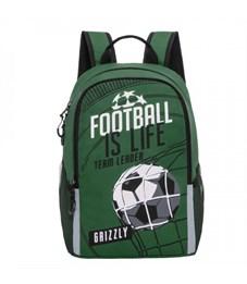 RB-964-5 Рюкзак школьный (/3 зеленый)
