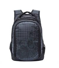 RD-742-1 Рюкзак черный - серый