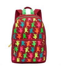 RD-743-1 Рюкзак школьный Grizzly красный