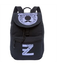 RD-744-1 Рюкзак школьный Grizzly черный-лаванда
