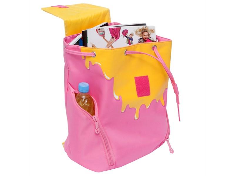 RD-749-1 Рюкзак Grizzly розовый-желтый