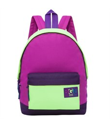 RD-750-4 Рюкзак Grizzly фиолетовый - малиновый - желтый