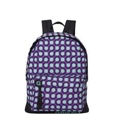 RD-750-6 Рюкзак школьный Grizzly круги фиолетовый-бирюза