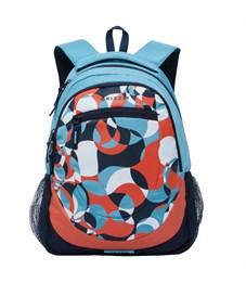 RD-751-1 Рюкзак школьный Grizzly голубой-синий