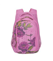 RD-752-2 Рюкзак школьный Grizzly розовый