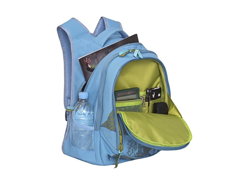 RD-752-2 Рюкзак школьный Grizzly голубой